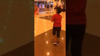 I am playing in the othaim mall