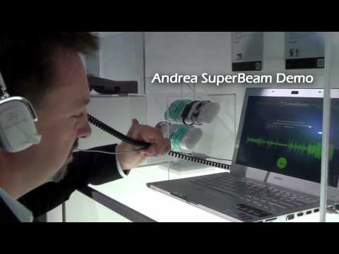 Andrea Electronics SuperBeam Headphone at 2011 Wired Store NYC