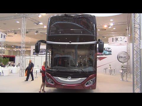 Mercedes-Benz MCV 800 Bus Exterior and Interior in 3D
