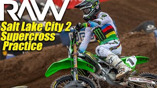 Salt Lake City Supercross 2 Practice Raw - Motocross Action Magazine