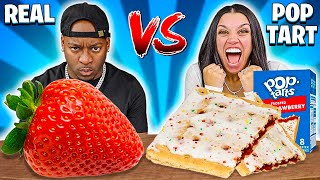 POPTART VS REAL FOOD CHALLENGE