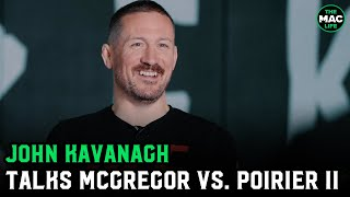 "John Kavanagh on Conor McGregor vs. Dustin Poirier II: ""I don't get why this isn't for a title"""