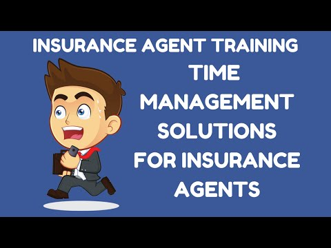 Time Management Solutions for Insurance Agents