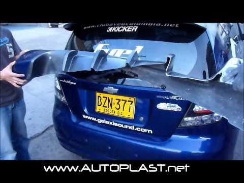 City Car Audio Chevy Aveo Kicker Edition Videomoviles