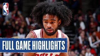 HAWKS at BULLS | Coby White Catches FIRE in Chicago | 2019 NBA Preseason