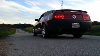 2006 Mustang V6 Pypes M-80 Mid Muffler