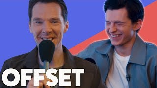 'I did not see the thong!': Benedict Cumberbatch and Tom Holland talk memes & awkward first meetings