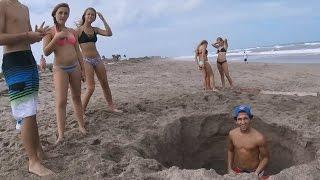 Metal detecting, digging for treasure on the Treasure Coast, Stuart Florida
