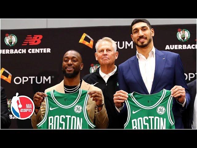 NBA/坎特選背號 趁機暗酸前綠衫軍一哥厄文