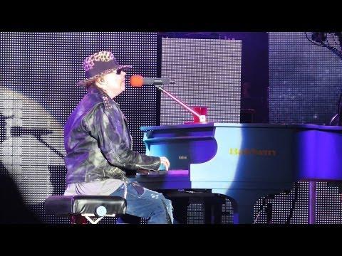 Baixar Guns N' Roses - Sweet Child O' Mine / November Rain - Brasil 2014 - HD