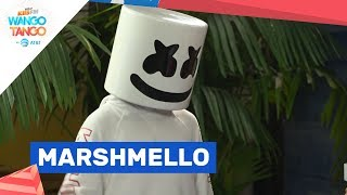 Marshmello Breaks Out Dance Moves Backstage At Wango Tango