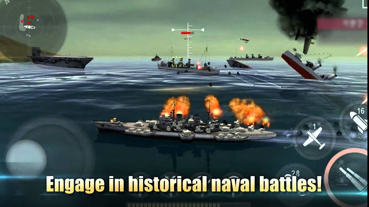 Chơi Warship Battle World War II on pc 2