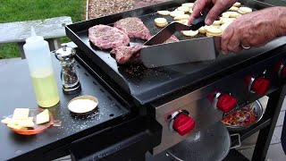 How To Grill on a Flat Top