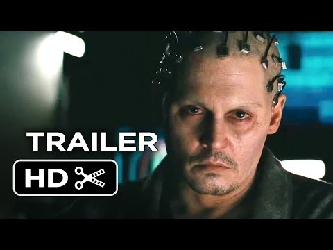 Transcendence Official Trailer #1 (2014) - Johnny Depp Sci-Fi Movie HD - Smashpipe Film