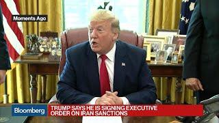 Trump Imposes Sanctions on Iran's Supreme Leader