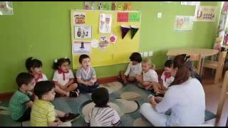 Morning circle time by Bunny Class👬👭🐰🐰