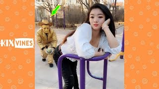 Funny videos 2019 ✦ Funny pranks try not to laugh challenge P68