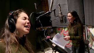 How Far I'll Go - Auli'i Cravalho (Behind The Mic)