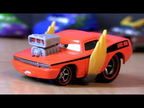 Cars 2 Snot Rod With Flames 2013 Tuners Diecast Collection Disney Pixar Car-toys Checklist - Smashpipe Entertainment Video