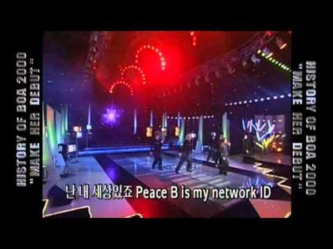 000827 BoA - ID;Peace B 데뷔 (SBS 인기가요)