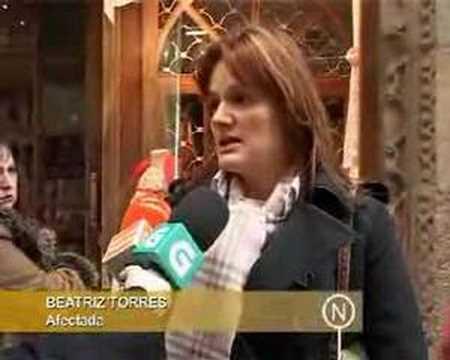DESALOJO COMERCIANTES AVENIDA PONTEVEDRA