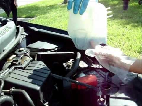 2007 Honda Civic Changing Coolant Youtube