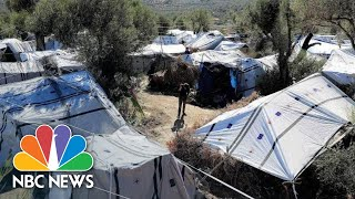 Thousands Moved From 'Inhumane' Camp As Greece Rethinks Asylum-Seeker Policy | NBC News