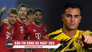 Bản tin Cảm Bóng Đá ngày 20/8 | Bayern Munich thắng đậm Lyon; Dortmund mượn thành công sao trẻ Real
