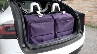 Tesla Model X - Luggage Carrying Capacity