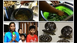 A fun day with family vlog/Sunscreen for kids/Lunch and dinner routine/கீரை கடையல்/White sauce pasta