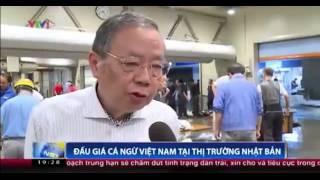Đấu giá cá ngừ Việt Nam tại thị trường Nhật Bản - Nguồn VTV