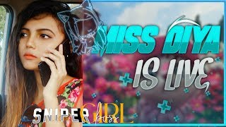 Free Fire Live- Rush OP Shot Gameplay with Miss Diya