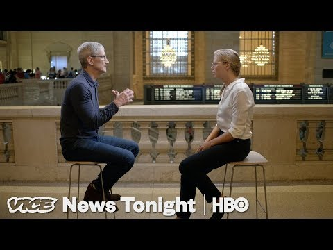 Apple CEO Tim Cook: The VICE News Tonight Interview (HBO)