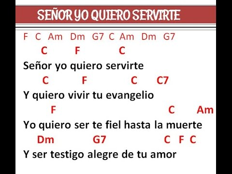 Señor yo quiero Servirte (Pbro. Arturo Jimenez Gasca)