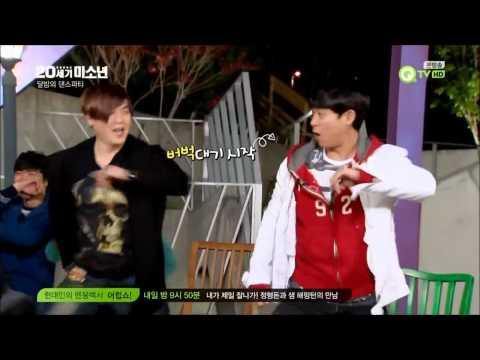 20세기 미소년 Ep.09 - Kim Tae-woo (김태우) dances with H.O.T on '전사의 후예'