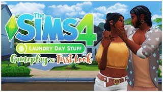 👠THE SIMS 4 LAUNDRY DAY STUFF || FIRST LOOK || GAMEPLAY👗