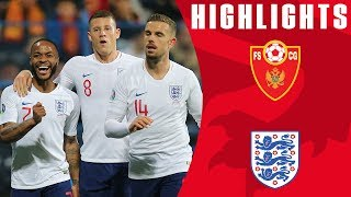 Montenegro 1-5 England   Barkley Brace & Sterling Shines Again!   Euro 2020 Qualifiers   England