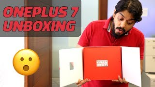 OnePlus 7 Unboxing and First Look - Price in India, Key Specifications