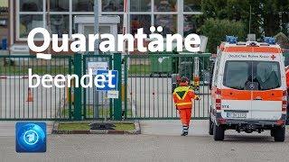 Coronavirus: Quarantäne in Deutschland endet - in China breitet sich Virus aus