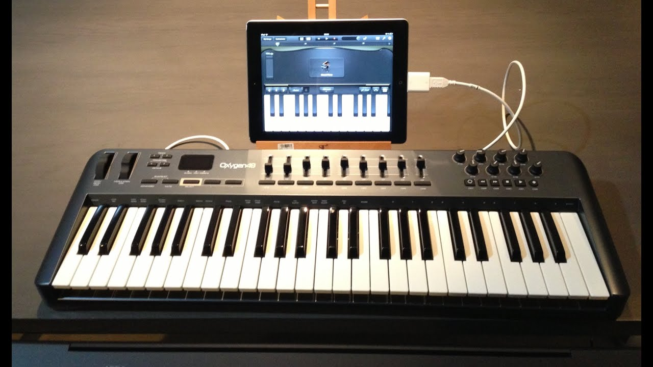 connect a midi controller keyboard to your ipad w connexion kit garageband youtube. Black Bedroom Furniture Sets. Home Design Ideas