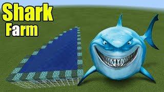 How to Make a Shark Farm   Minecraft PE