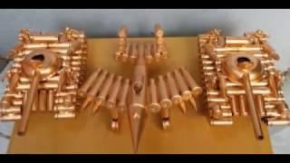 Quà tặng độc đáo | Đồ lưu niệm  | Bán mô hình máy bay quân sự bằng vỏ đạn