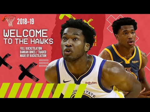 Damian Jones | 2018-19 Bucketilation | Welcome to Atlanta! (5.4 PPG, 3.1 RPG)