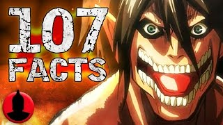 107 Attack On Titan Anime Facts YOU Should Know! - (107 Anime Facts S1 E2) - Cartoon Hangover