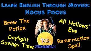 Learn English Through Movies: Hocus Pocus