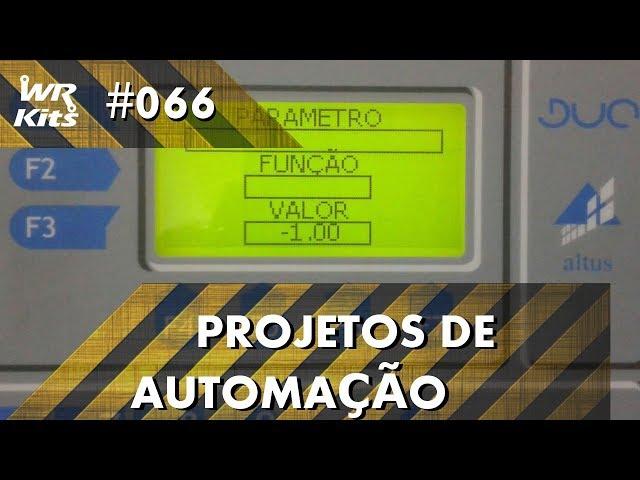ACESSO DE PARÂMETROS RESTRITOS COM CLP ALTUS DUO | Projetos de Automação #066
