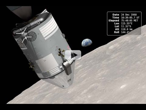 Historic 'Earthrise' Re-Created For 45th Apollo 8 Anniversary   Video - Smashpipe Tech