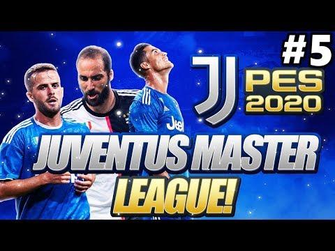 CHAMPIONS LEAGUE VS REAL MADRID | PES 2020 JUVENTUS MASTER LEAGUE #5 (PES 2020 GAMEPLAY)