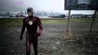 The Flash travels to Earth 38 and meets Supergirl