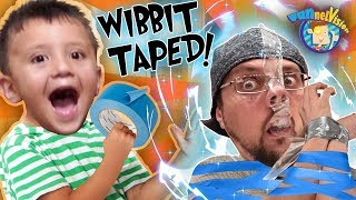 HOW NOT TO USE TAPE!  (FV Family Wibbit Vlog)